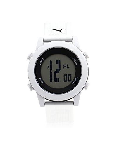 Puma Men's PU911071002 White/Grey Plastic Watch