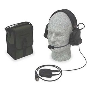 Electronic Ear Muff, 21Db, Fldg, Bk, 2Way