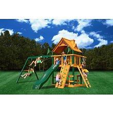 Gorilla Playsets Blue Ridge Chateau Playground System