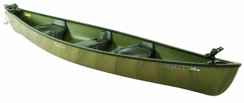 Old Town Saranac 146 Angler Recreational Fishing Canoe, Camo, 14-Feet 6-Inch