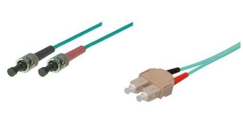 Patchkabel LWL Duplex OM3 (Multimode, 50/125) ST/SC, 3m, Good Connections®