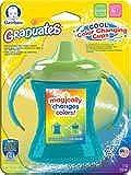 Gerber Graduates Fun Grips Color Change Soft Spout 2 Handle Cup 7oz 1pk - Green