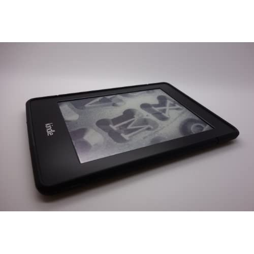 Kindle Paperwhite ソフト カバー ケース 軽量 (ブラック(単体))