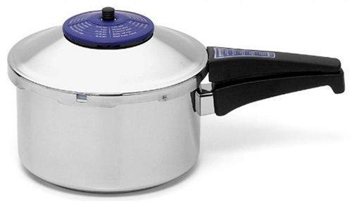 Kuhn Rikon 3147 Duromatic Anniversary 3.7-Quart Pressure Cooker, Stainless