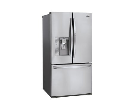 Lg LFX31945ST: Super-Capacity 3 Door French Door Refrigerator with Door-in-Door