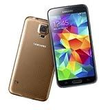 Samsung Galaxy S5 Gold 16GB SIM-Free Smartphone