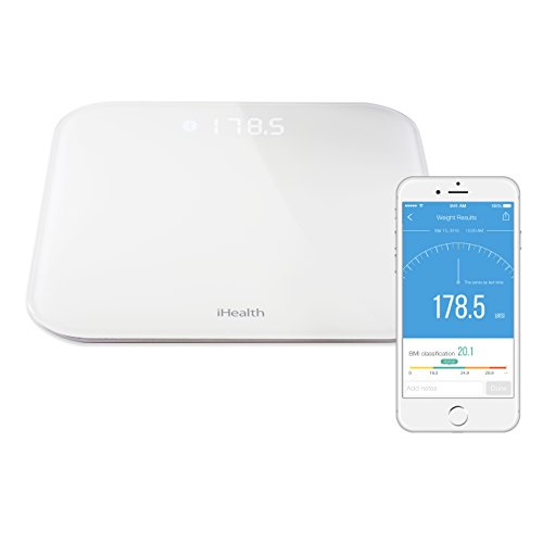 GIMA 23506 ihealth Bilancia Wireless, HS4
