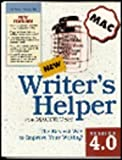 img - for Writers Helper for MAC v4.0 book / textbook / text book