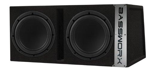 Bassworx 'CP212B Dual 12-InchPorted Enclosure (Black)