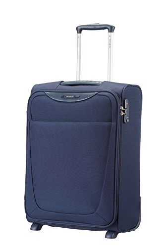 Samsonite Base Hits Upright 55/20 Bagaglio a mano, 55 cm, 39 L, Blu (Blu)