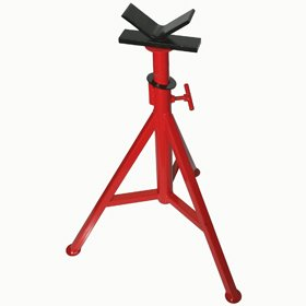 Pt 56662 V Head Pipe Stand 28 Quot 48 Quot Adjustable Pipe Jack