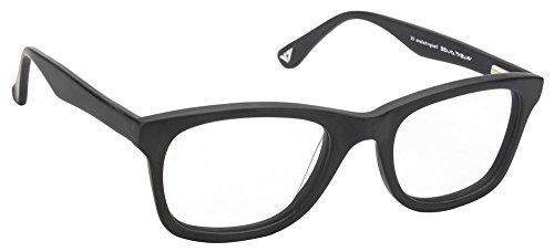 Vincent Chase VC 4010 Matte Black C1 Wayfarer Eyeglasses(103805)
