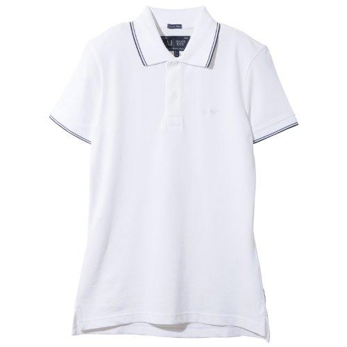 Armani Jeans - 06M30BT, Polo da uomo, bianco (bianco - white 10), 2XL