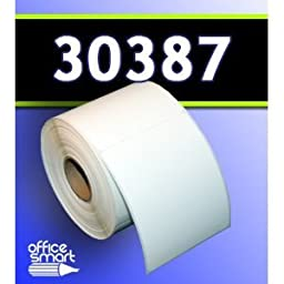 1 Roll-OfficeSmartLabels Internet Postage w/Delivery Confirmation Labels, Dymo 30387 Compatible for DYMO LabelWriters 330 400 450 Twin Turbo Duo 4XL Printer