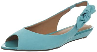 Madison Harding Women's Nissa Ballet Flat,Pacific,6.5 M US