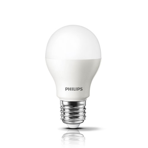 Philips 429381 10.5-Watt (60-Watt Equivalent) 800 Lumens 3000K A19 Led Household Light Bulb, Bright White