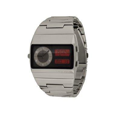 Vestal Men's MMC037 Metal Monte Carlo Gun Ion-Plated Analogue-Digital Watch
