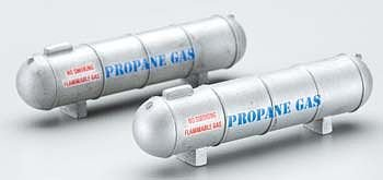 Large Propane Tank HO Scale Train Building