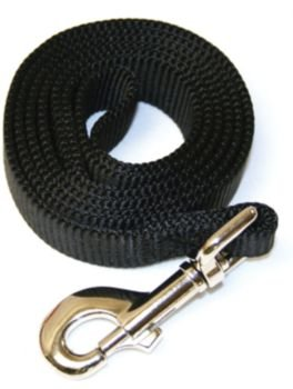 Coastal Dog Leash Small - 4 Ft. Black with a Width of 3/8 in.
