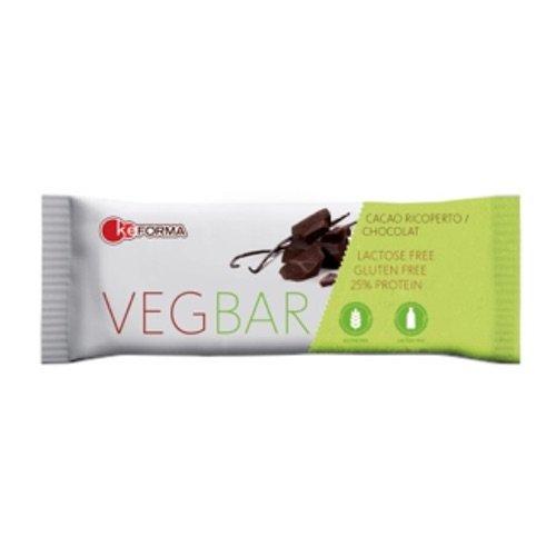 keForma VEGBAR BARRETTA PROTEICA VEGANA BOX da 30 BARRETTE da 40G gusto Cacao