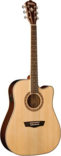 Washburn Tahoe WD20SCE Dreadnought Cutaway natural