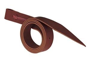 Weaver Leather Latigo with Holes, 1 1/2 x 60-Inch, Burgundy