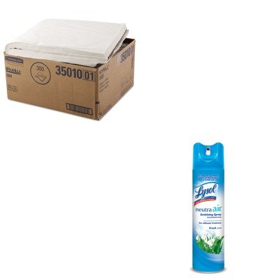 KITKIM35010RAC76938EA - Value Kit - KIMBERLY CLARK WYPALL X60 Towels (KIM35010) and Neutra Air Fresh Scent (RAC76938EA)