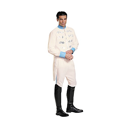 Shindigz Halloween Party Prince Charming Adult Deluxe Costume X-Large