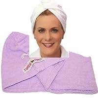 Turbie Twist Hair Towel in Lavender Purple