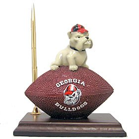 Georgia Bulldogs Mascot Football Clock/Pen