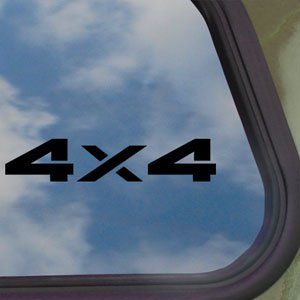 4X4 Offroad Black Decal Car Truck Bumper Window Sticker