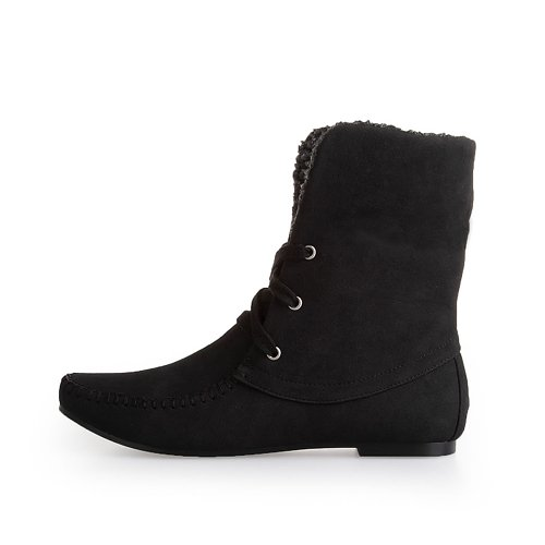 Alexis Leroy Women And Girls' Fashion Cold Weather Ankle Boots 038 (37 Eu / 6-6.5 Us, Black)