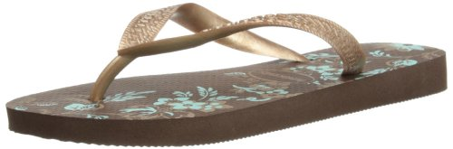 Havaianas Womens Spring Thong Sandals 4123230 Dark Brown 4 UK, 38 EU