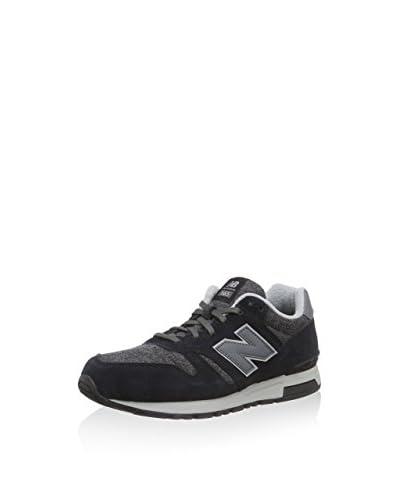 New Balance Sneaker Ml565 [Blu Navy/Grigio]