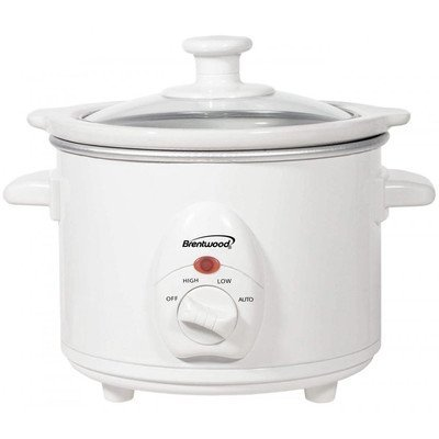 Brentwood Sc-115W 1.5 Quart Slow Cooker Small Appliances front-412420