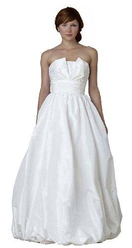Buy Wedding & Events Ball Gown Floor-length Strapless Taffeta Wedding Dresses