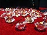 31pBfVDRynL. SL160  800 Diamond Table Confetti Wedding Bridal Shower Party Decorations 4 Carat/ 10mm Clear