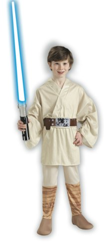 Star Wars Classic Luke Skywalker Child Costume Size: Medium (US sizes 8-10, For 5-7 years)