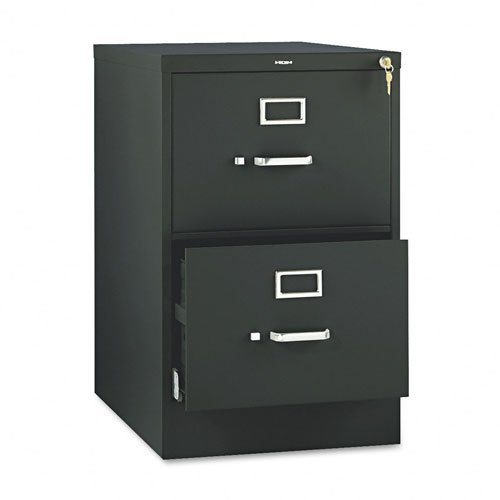 HON 512CPP 510 Series Two-Drawer- Full-Suspension File- Legal- 29h x 25d- Black