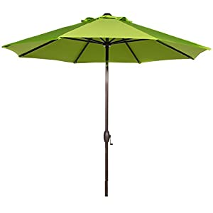 Abba Patio 9 Ft Outdoor Patio Table Aluminum Umbrella