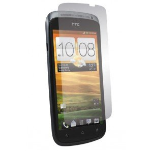 meroTronic 2 x TRANSPARENT Screen Protection für HTC ONE S - Displayschutzfolien für HTC ONE S !