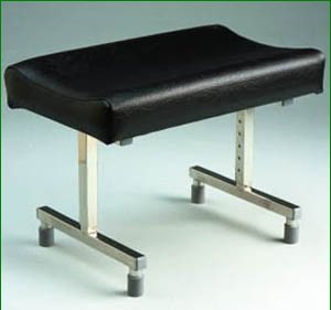 Adjustable Footstool with Rubber Feet