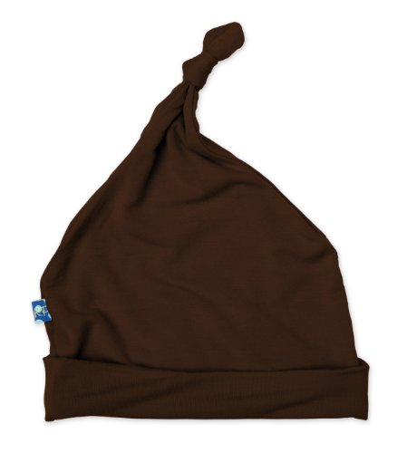 Kickee Pants Knot Hat, Bark, 12-24 Months