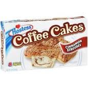 Hostess Coffee Cakes, Cinnamon Streusel, 8 wrapped, 11.7 oz