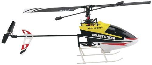 Nine Eagles Ne201094 Solo Pro 270A Fp 4Ch Slt 2.4G Rtf Helicopter, Black/Yellow