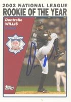 Dontrelle Willis Florida Marlins 2004 Topps Autographed Hand Signed Trading Card. by Hall+of+Fame+Memorabilia