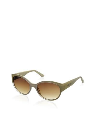 Thierry Mugler Women's TR2002 Sunglasses, Cream Glitter