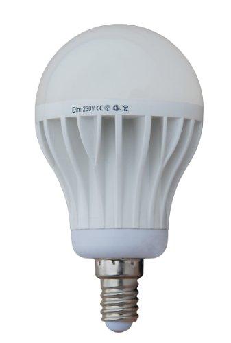 Generic Dimmable 10W Thermal Plastic A60 Led Bulb, 220V 230V, E14 Lamp Base, 2700K Warm White, 790 Lumen