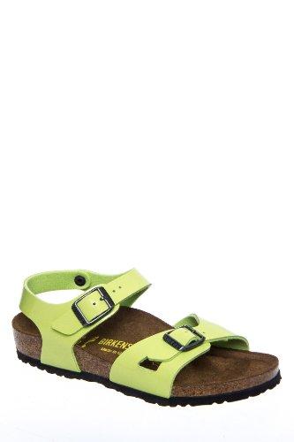 Birkenstock Kids' Rio Kinder Comfort Flat Ankle Strap Sandal