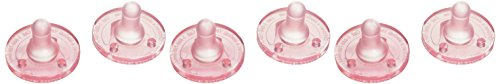 Avent BPA Free Soothie Pacifier, Pink, 3 Months and Older, 6 Pack - 1